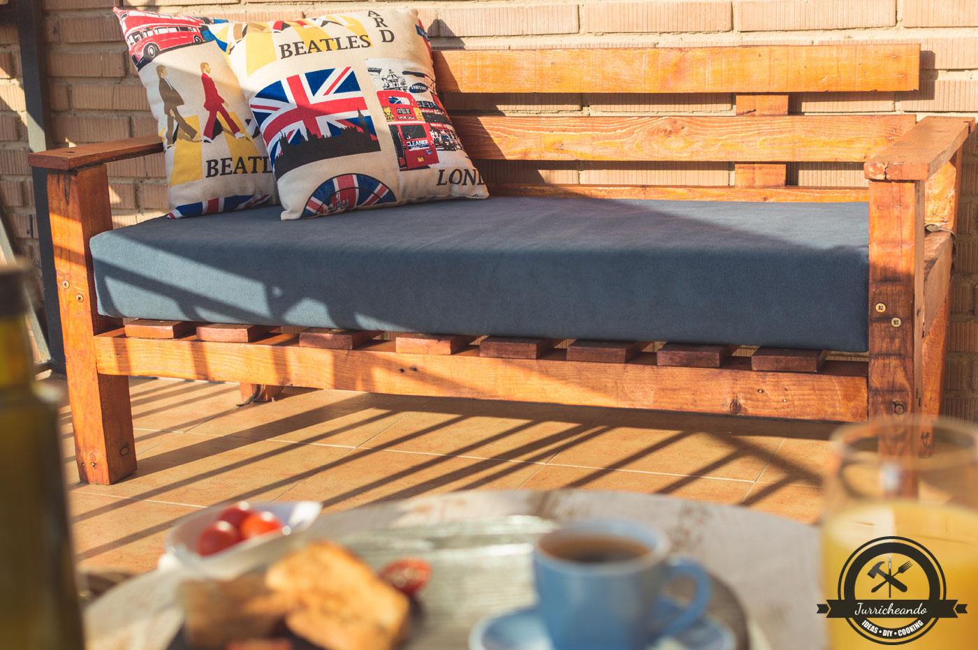 Sillon De Palets Haz El Tuyo Jurricheando Bricolaje Diy Conina - Sillon-palets-madera