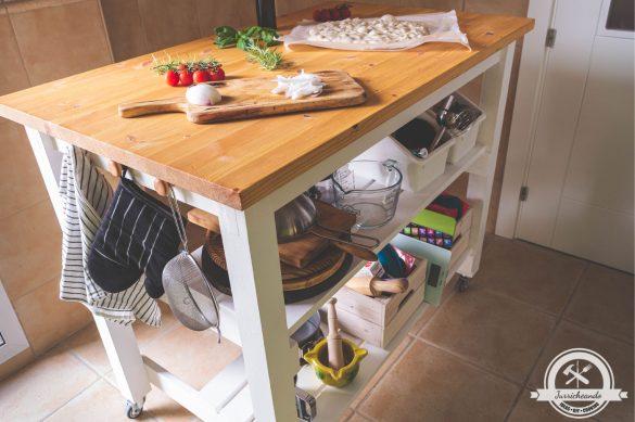 Isla de cocina DIY